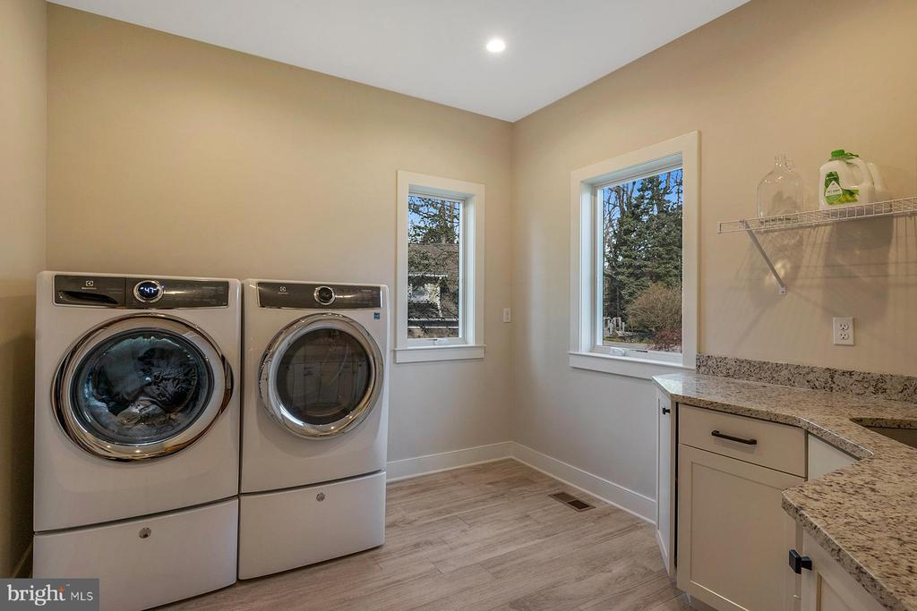 Laundry room is located on the main level of home - 1696 BEECH LN, ANNAPOLIS