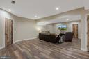 Family room would make a great home theater - 1696 BEECH LN, ANNAPOLIS