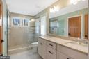 Upper level master bathroom - 1696 BEECH LN, ANNAPOLIS