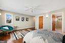 Upper level master bedroom has a private bathroom - 1696 BEECH LN, ANNAPOLIS
