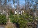 Aerial view of the home, set on a .94 acre lot - 1696 BEECH LN, ANNAPOLIS