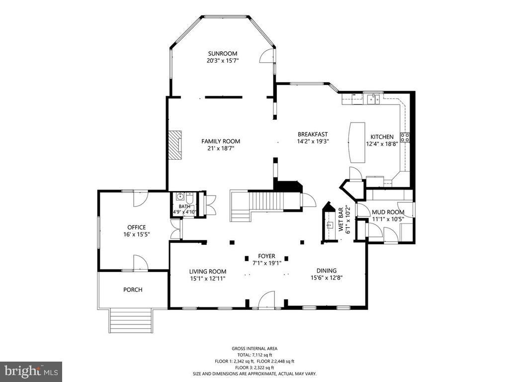 Main level floorplan - 38511 DITCHLING PL, HAMILTON