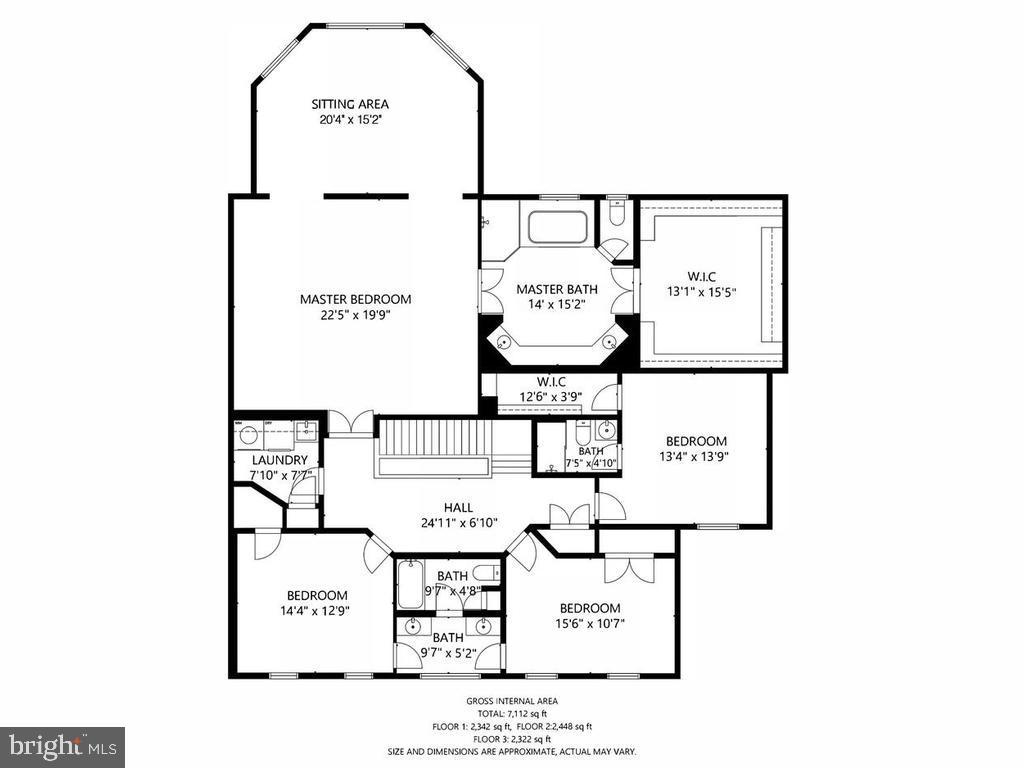 Second level floorplan - 38511 DITCHLING PL, HAMILTON