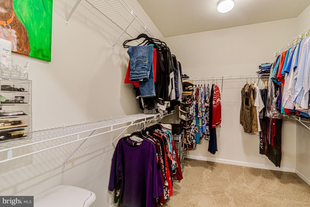 Good size closet. - 20570 HOPE SPRING TER #205, ASHBURN