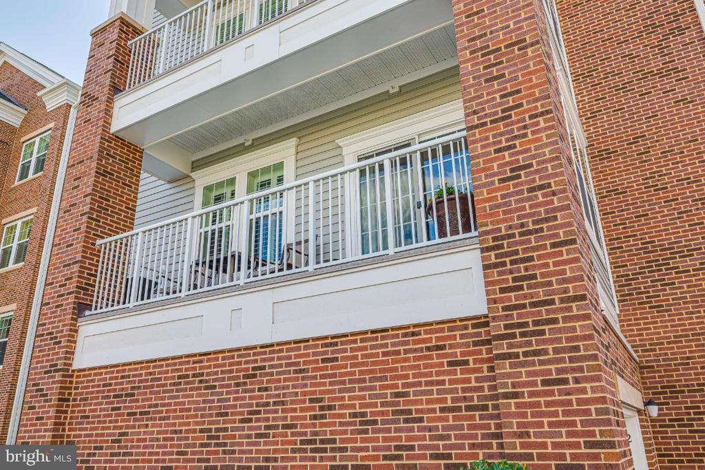 Private balcony. - 20570 HOPE SPRING TER #205, ASHBURN