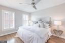 Bedroom 3 on 4th floor - 1204 N PITT ST, ALEXANDRIA