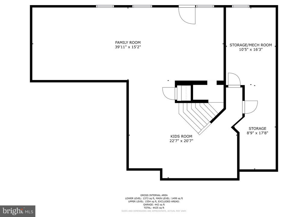 Lower level - 42580 FAWN MEADOW PL, CHANTILLY