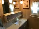 Full bath with new vanity top - 3417 DAHLIA LN, MIDDLE RIVER