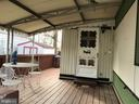 Large covered porch - 3417 DAHLIA LN, MIDDLE RIVER