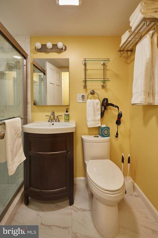Sparkling clean, renovated bath - 11 2ND ST NE #104, WASHINGTON