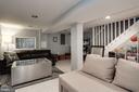 Lower Level Living Area - 618 EVARTS ST NE, WASHINGTON