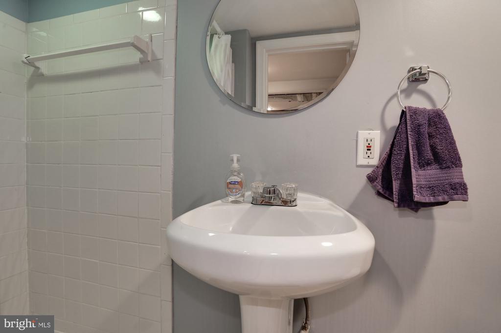 Third Bathroom on Lower Level - 618 EVARTS ST NE, WASHINGTON