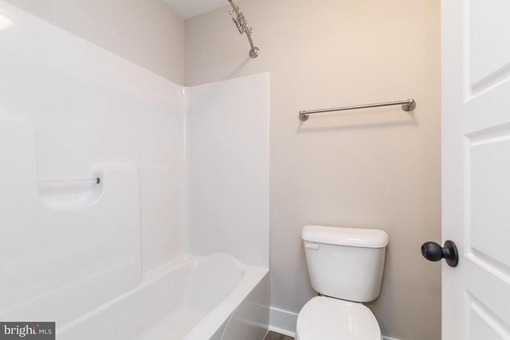 Tub is private from Vanities in Jack & Jill - 3012 (LOT 3) THURSTON RD., FREDERICK