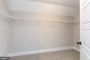 Walk-in master closet. - 3012 (LOT 3) THURSTON RD., FREDERICK