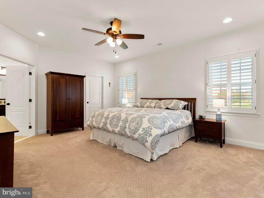 Master Suite with two walk-in Closets - 41488 DEER POINT CT, ALDIE