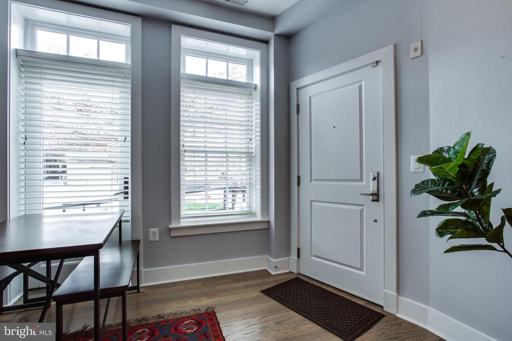 Loaded w/Natural Light from Walls of Windows - 1515 11TH ST NW #1-2, WASHINGTON