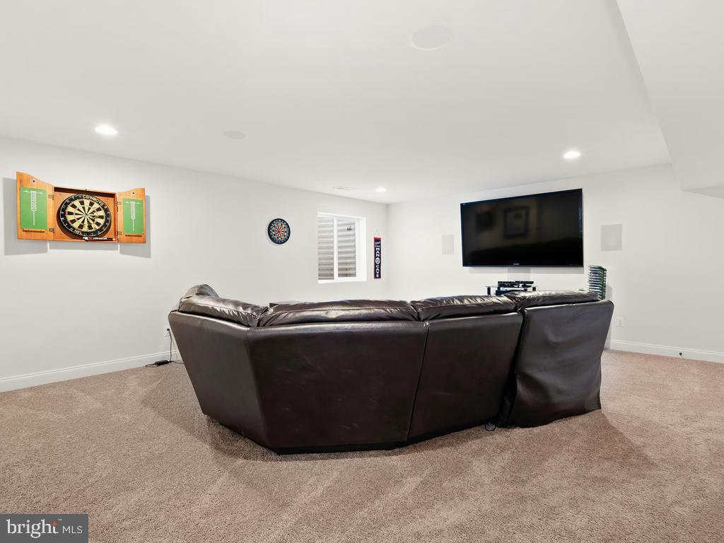 Movie Rm in Basement (could be 6th Rm, has window) - 41488 DEER POINT CT, ALDIE