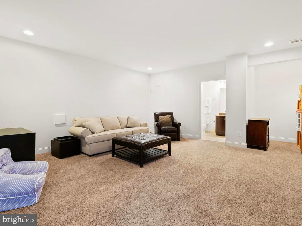 1,500 sqft of finished space in the basement - 41488 DEER POINT CT, ALDIE