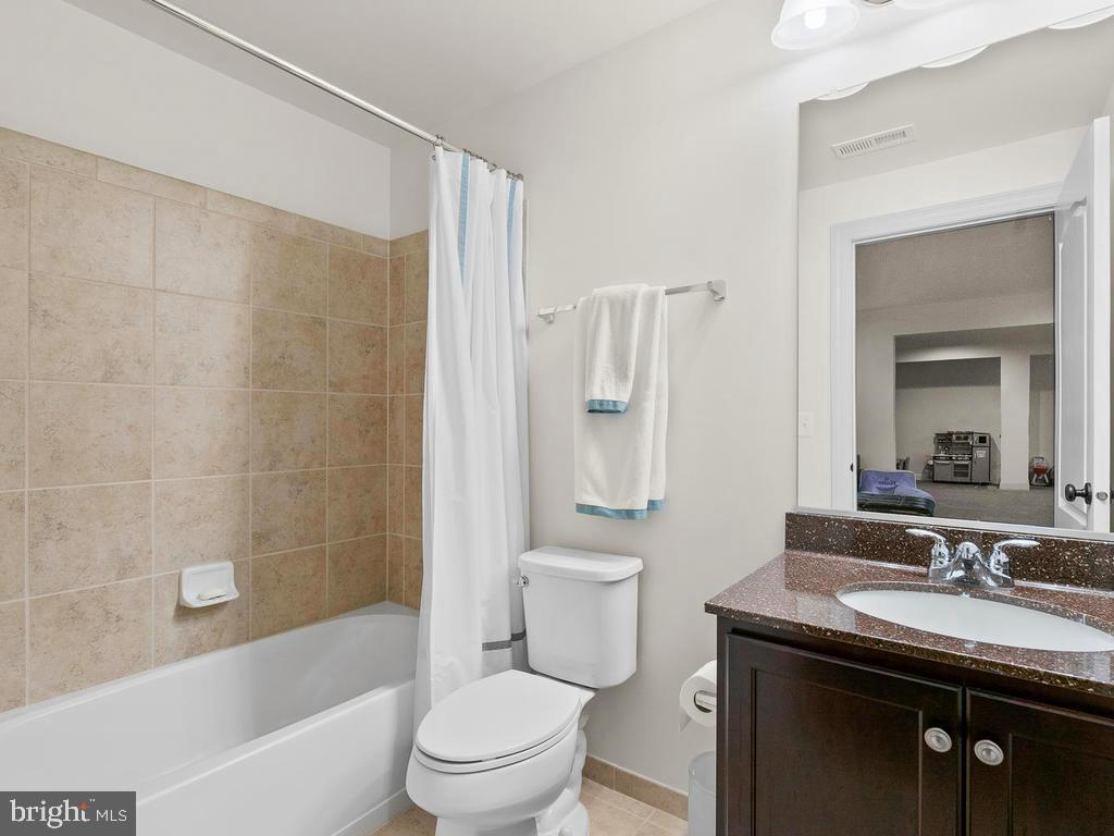 4th Full Bath in the Basement - 41488 DEER POINT CT, ALDIE