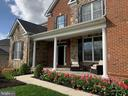 Beautiful Tulips in Bloom at the front entrance - 41488 DEER POINT CT, ALDIE