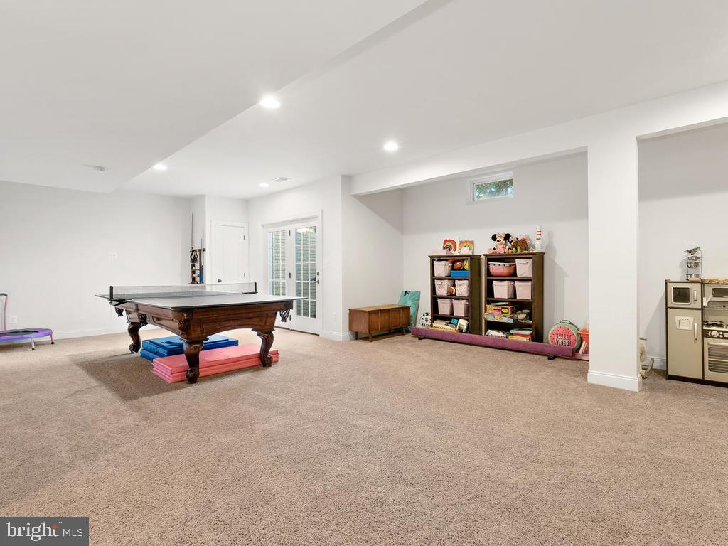 Walk up basement to backyard - 41488 DEER POINT CT, ALDIE