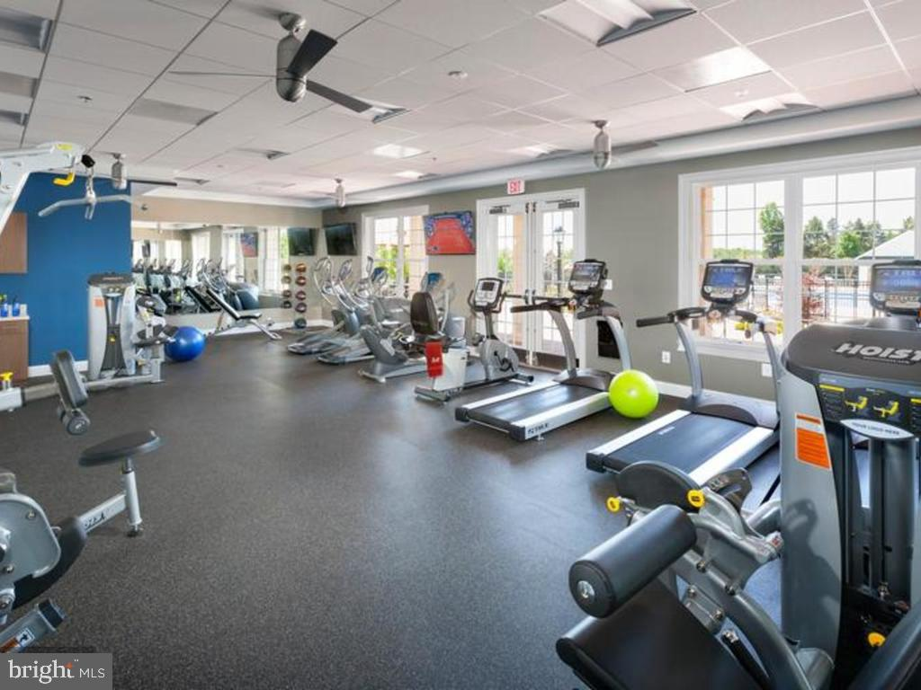 Clubhouse Fitness center - 41488 DEER POINT CT, ALDIE