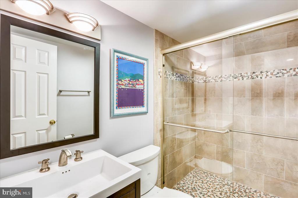 Lower Level Full Bath - 6308 MOUNTAIN BRANCH CT, BETHESDA