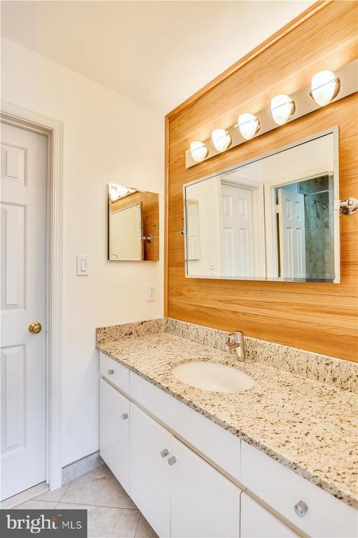 Vanity Area for Upper Level Full Bath #2 - 6308 MOUNTAIN BRANCH CT, BETHESDA