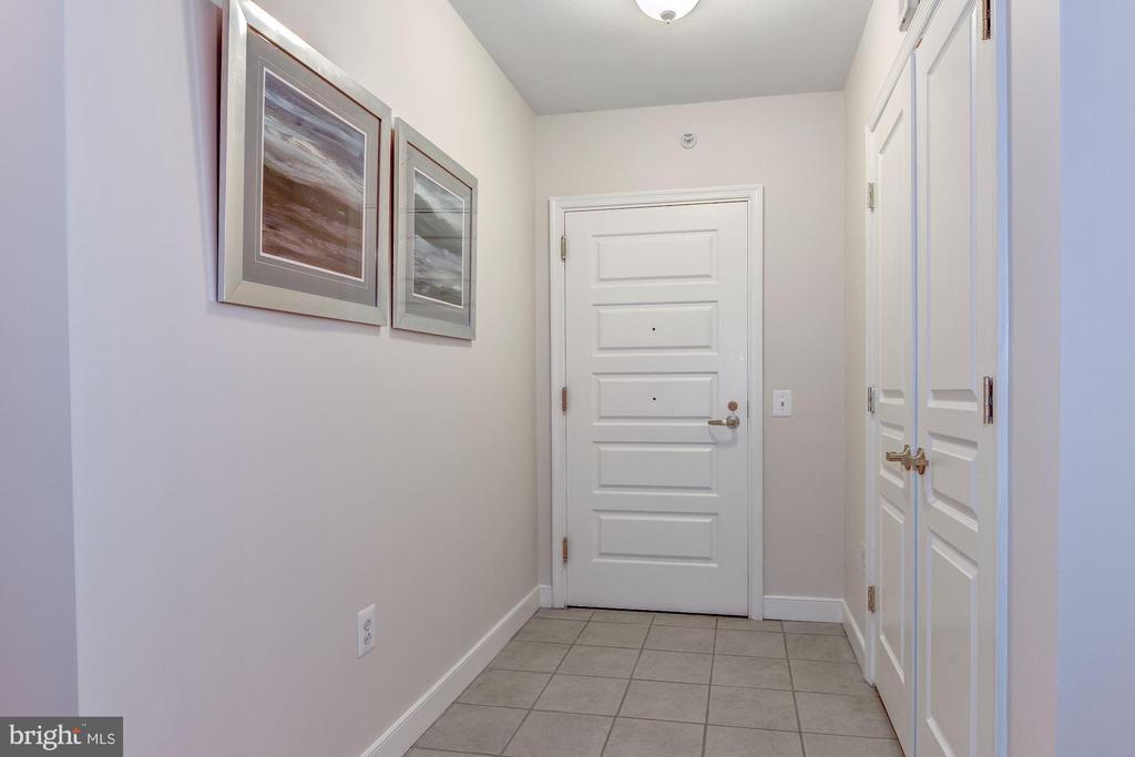 Foyer inside unit - 631 D ST NW #726, WASHINGTON