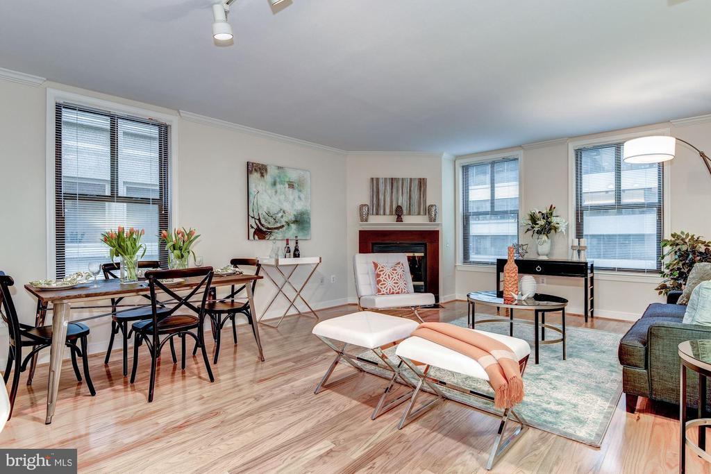 Living room / Diningroom - 631 D ST NW #726, WASHINGTON