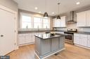 Gourmet kitchen. - 7142 MASTERS RD, NEW MARKET