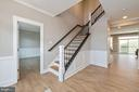 Grand entryway. - 7142 MASTERS RD, NEW MARKET