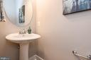 First floor half bath. - 7142 MASTERS RD, NEW MARKET