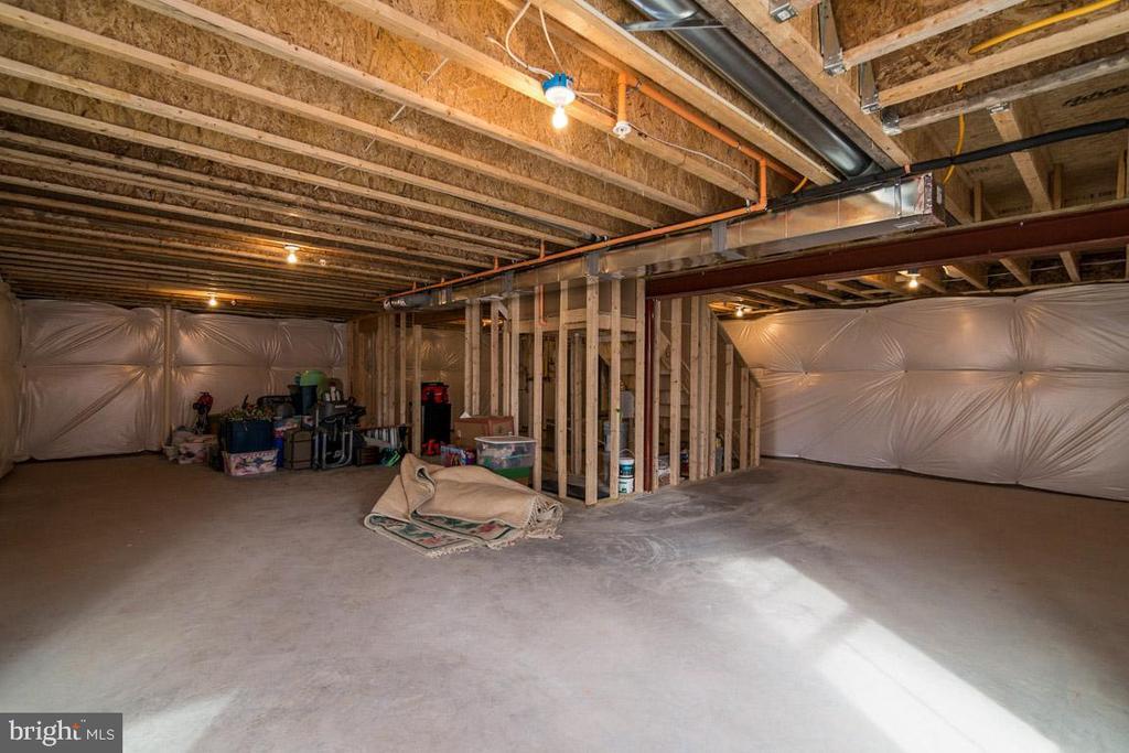 Full basement. - 7136 MASTERS RD, NEW MARKET