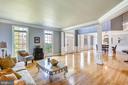 Living Room - Open Floorplan - 606 OAK KNOLL TER, ROCKVILLE