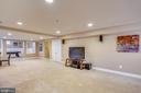 Basement Rec Room - 606 OAK KNOLL TER, ROCKVILLE