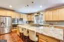 Beautifully Upgraded Kitchen - 606 OAK KNOLL TER, ROCKVILLE
