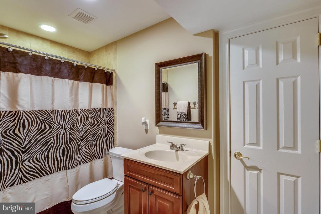 Basement Full Bathroom - 606 OAK KNOLL TER, ROCKVILLE
