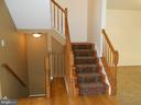 Both Staircases - Hardwood - 8866 MOAT CROSSING PL, BRISTOW