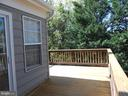 Wrap Around Deck off Sunroom - 8866 MOAT CROSSING PL, BRISTOW