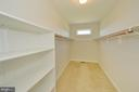 Master walk-in closet - 19771 GREGGSVILLE RD, PURCELLVILLE