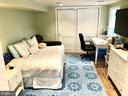 Lower level bedroom - 7411 RIDGEWOOD AVE, CHEVY CHASE