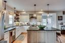 Gorgeous kitchen with island, gas range - 900 N FREDERICK ST, ARLINGTON