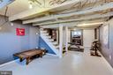 Drywall and cool exposed beams - 900 N FREDERICK ST, ARLINGTON