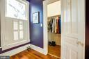 Large walk in closet in the master bath - 1112 CHARLES ST, FREDERICKSBURG