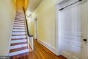 Stairs leading to walk up attic with ample storage - 1112 CHARLES ST, FREDERICKSBURG