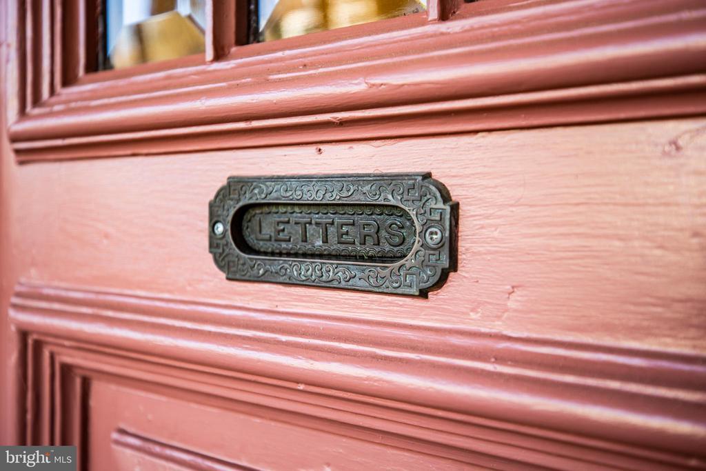 Original Mail slot - 1112 CHARLES ST, FREDERICKSBURG