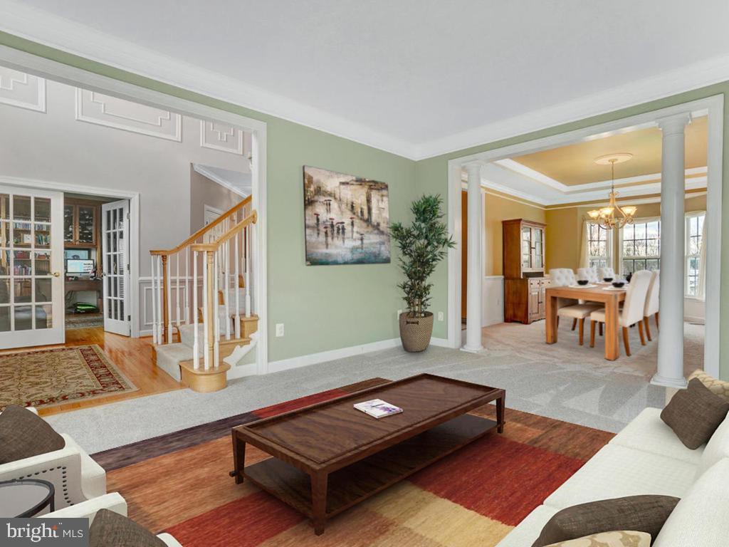 Living Room - 11206 ANGUS WAY, WOODSBORO