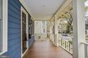 Relaxing covered porch - 231 N EDGEWOOD ST, ARLINGTON