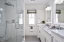 Glass enclosed frameless shower - 231 N EDGEWOOD ST, ARLINGTON
